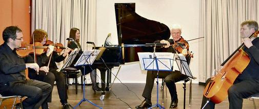 Konzert Klavierquintett mit Yevgeniya Schott, Korbach 2013